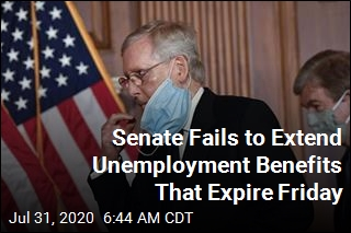 Senate Fails to Extend Unemployment Benefits That Expire Friday