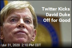 David Duke Won't Be Tweeting Anymore