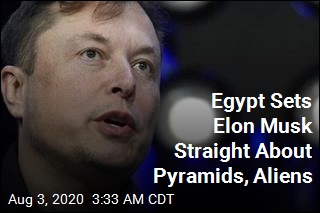 Egypt Sets Elon Musk Straight on Pyramid Tweet