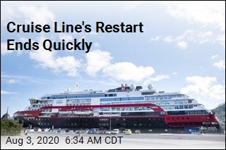 Cruise Line's Restart Ends Quickly