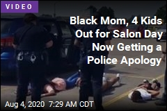 Black Mom, 4 Kids Out for Salon Day Now Getting a Police Apology