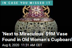 Cats, Dogs Frolicked Near $9M Emperor's Vase