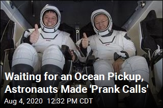 Waiting for an Ocean Pickup, Astronauts Made 'Prank Calls'