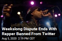 Twitter Bans Rapper for Alleged Harassment