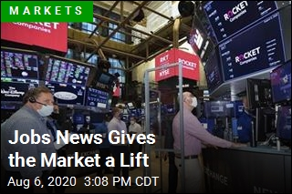 Jobs News Gives the Market a Lift
