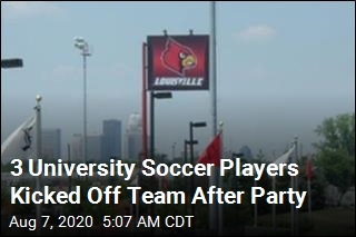 3 University Soccer Players Kicked Off Team After Party