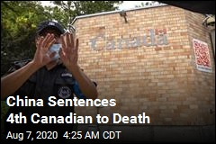 China Sentences 4th Canadian to Death