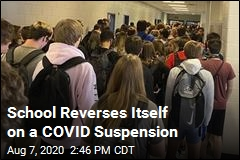 School Reverses Itself on a COVID Suspension