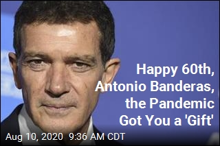On His 60th, Antonio Banderas Says He's Got COVID-19