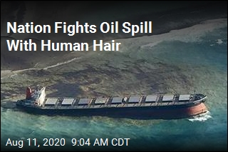 People Cut Off Their Hair to Fight Oil Spill