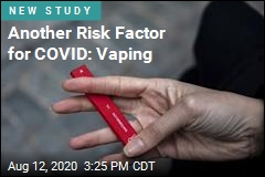 For the Young, Vaping Brings Much Higher COVID Risk