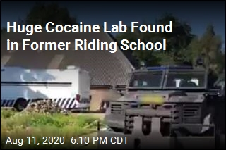 Dutch Cops Find Huge Drug Lab in Former Riding School
