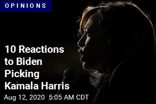 10 Reactions to Biden Picking Kamala Harris