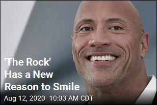 'The Rock' Has a New Reason to Smile