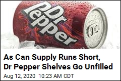 As Soda Supply Runs Short, Charmin Can Relate