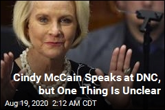 Cindy McCain Speaks at DNC, but One Thing Is Unclear