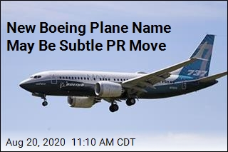Boeing Uses New Name for 737 Max