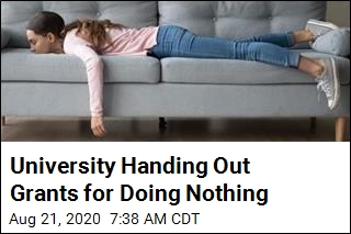 University Will Pay You to Do Nothing
