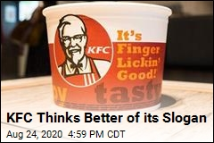 KFC Thinks Better of its Slogan