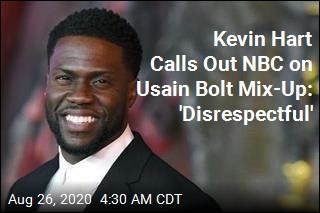Kevin Hart Calls Out NBC on Usain Bolt Mix-Up: 'Disrespectful'