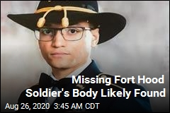 Missing Foot Hood Soldier's Body Likely Found