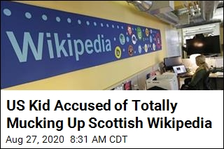 US Teen Wrote Chunk of Scots Wikipedia in Bad Accent