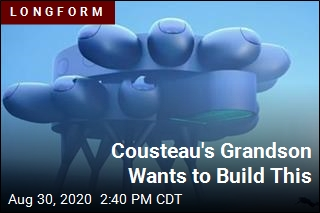 Cousteau's Grandson Wants to Build This