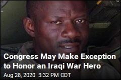 He May Be First Black Soldier to Get Medal of Honor for Iraq