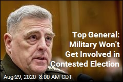 Gen. Milley on Military Involvement in Contested Election: Nope