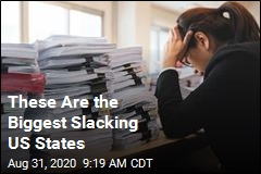 These Are the Hardest-Working, Biggest Slacking US States