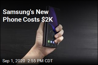 Samsung's New Phone Costs $2K