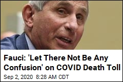 Fauci Debunks Tweet That Minimized COVID Toll