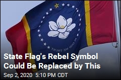 State Flag: Magnolia Could Replace Old Rebel Symbol