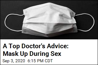 Doctor Advises Wearing a Mask During Sex