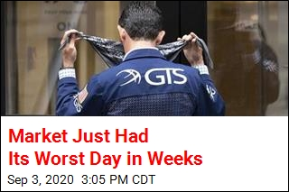 Market Just Had Its Worst Day in Weeks