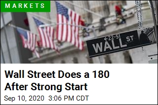 Wall Street Does a 180 After Strong Start