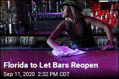 Florida to Let Bars Reopen