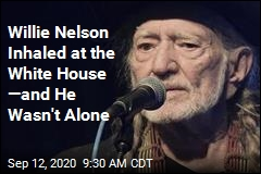Willie Nelson, Carter's Son Smoked Up at the White House