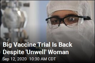 Big Vaccine Trial Is Back On