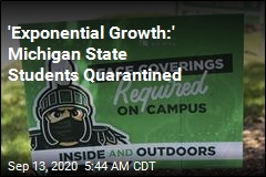 'Exponential Growth:' Michigan State Students Quarantined