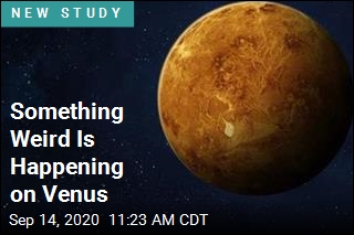 In Clouds of Venus, a Tantalizing Find