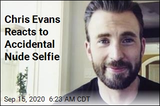 Chris Evans Reacts to Accidental Nude Selfie