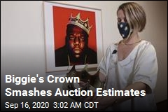 Biggie's Crown Sells for 100K Times What It Cost