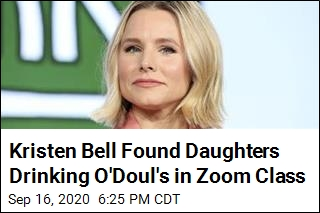 Kristen Bell Found Daughters Drinking O'Doul's in Zoom Class