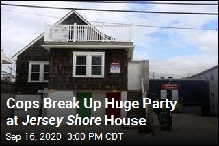 Cops Break Up Huge Party at Jersey Shore House