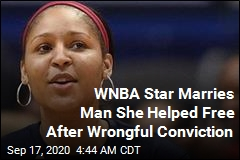 WNBA Star Marries Man She Helped Free From Prison