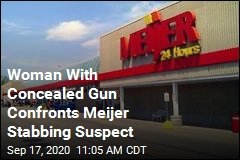 A Knife Was Drawn at Meijer. Then a Gun