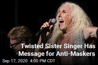 Twisted Sister Singer to Anti-Maskers: Please Stop