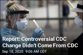 Report: CDC Scientists Weren't Behind CDC Guidance