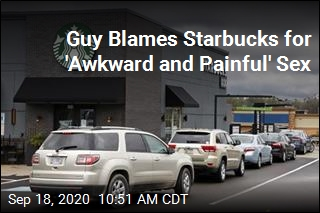 Suit: Sex 'Awkward and Painful' After Starbucks Scalding